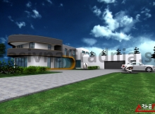 Nizkoenergijska hiša K – Domžale - Projekt