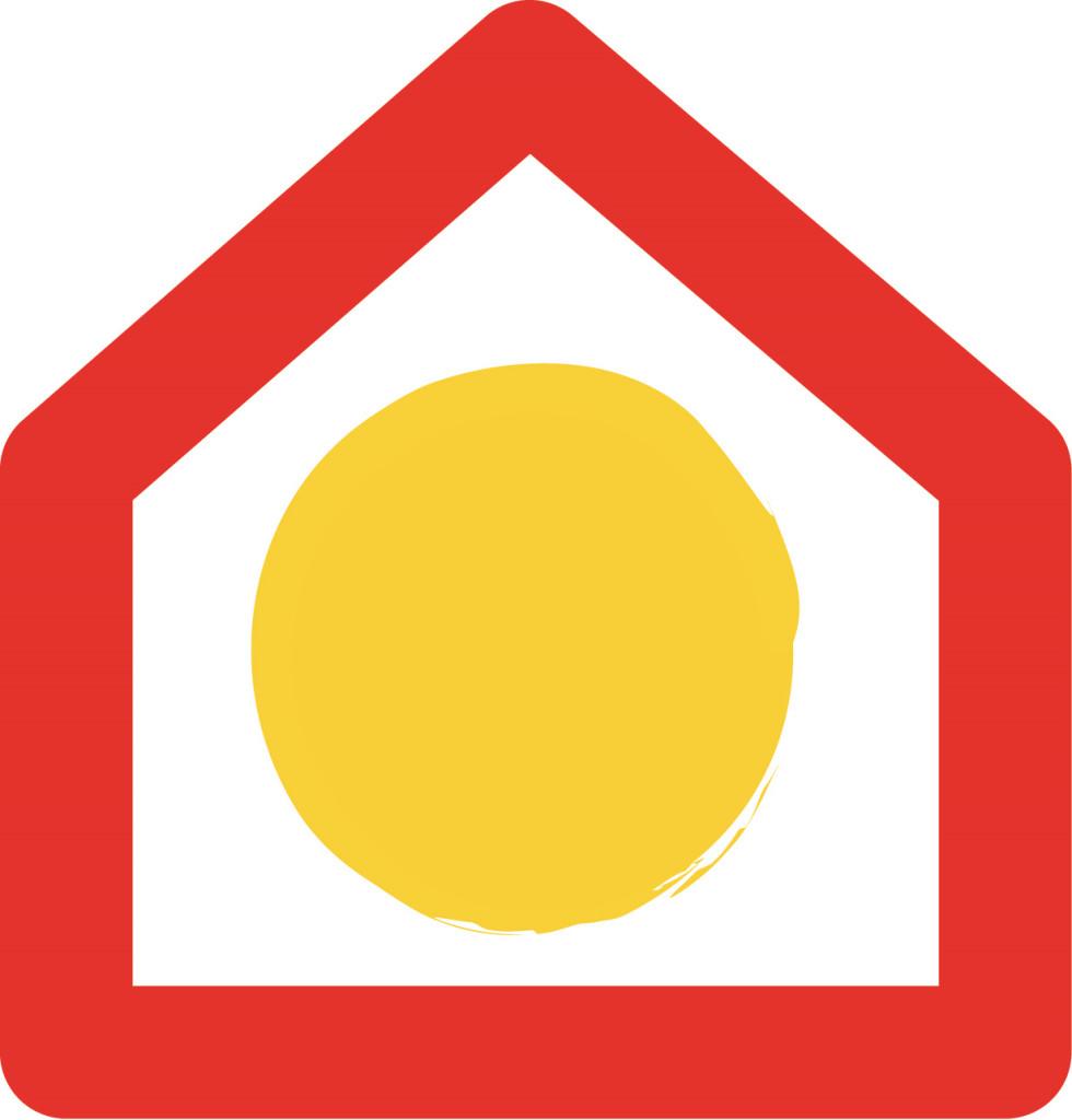 logo pasivnagradnja s hisko - bela podlaga