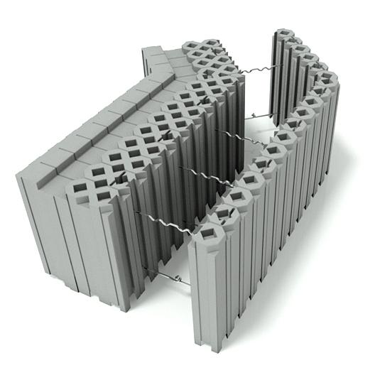 400 Block inner corner 135 deg