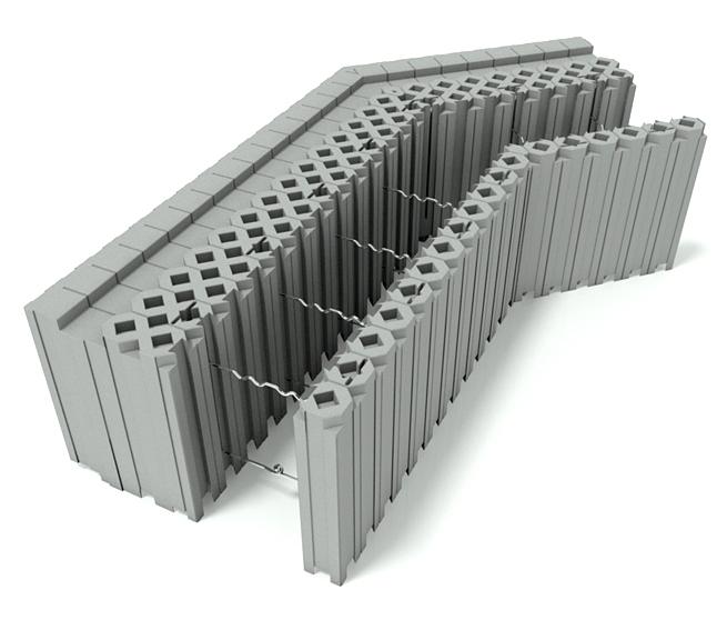 400 Block outer corner 135 deg