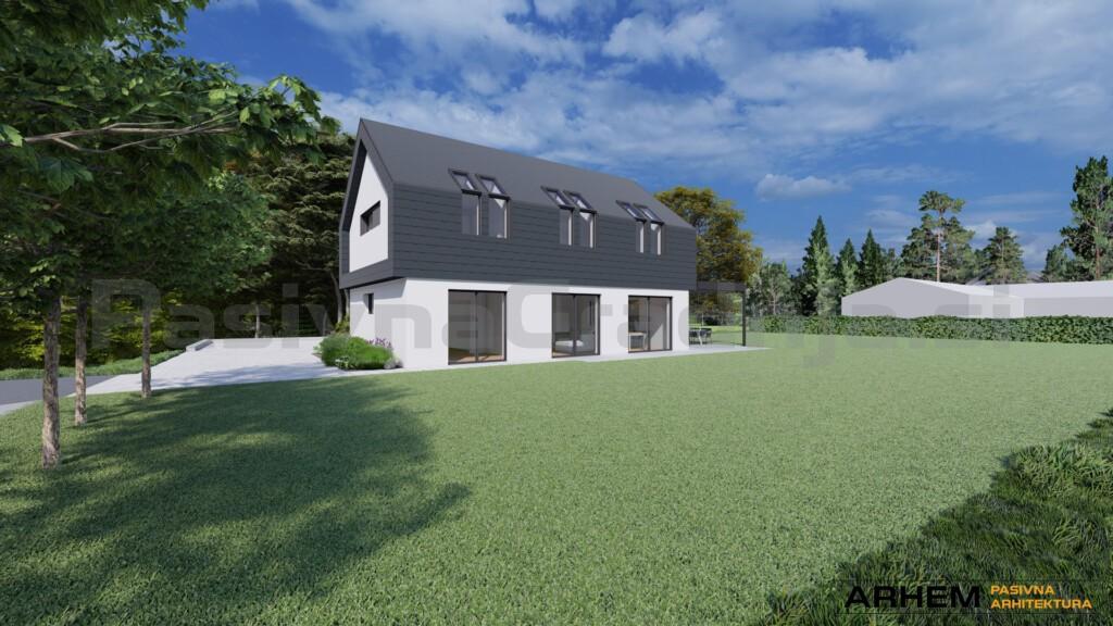 Pasivna hiša B&K – Tabor - vizualizacija