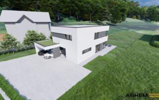 Pasivna hiša Bj - Škofljica - ravna streha - 7